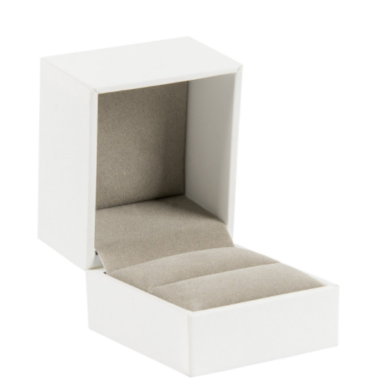 Darice Grey Cotton Filled Jewelry Boxes 6 Piece
