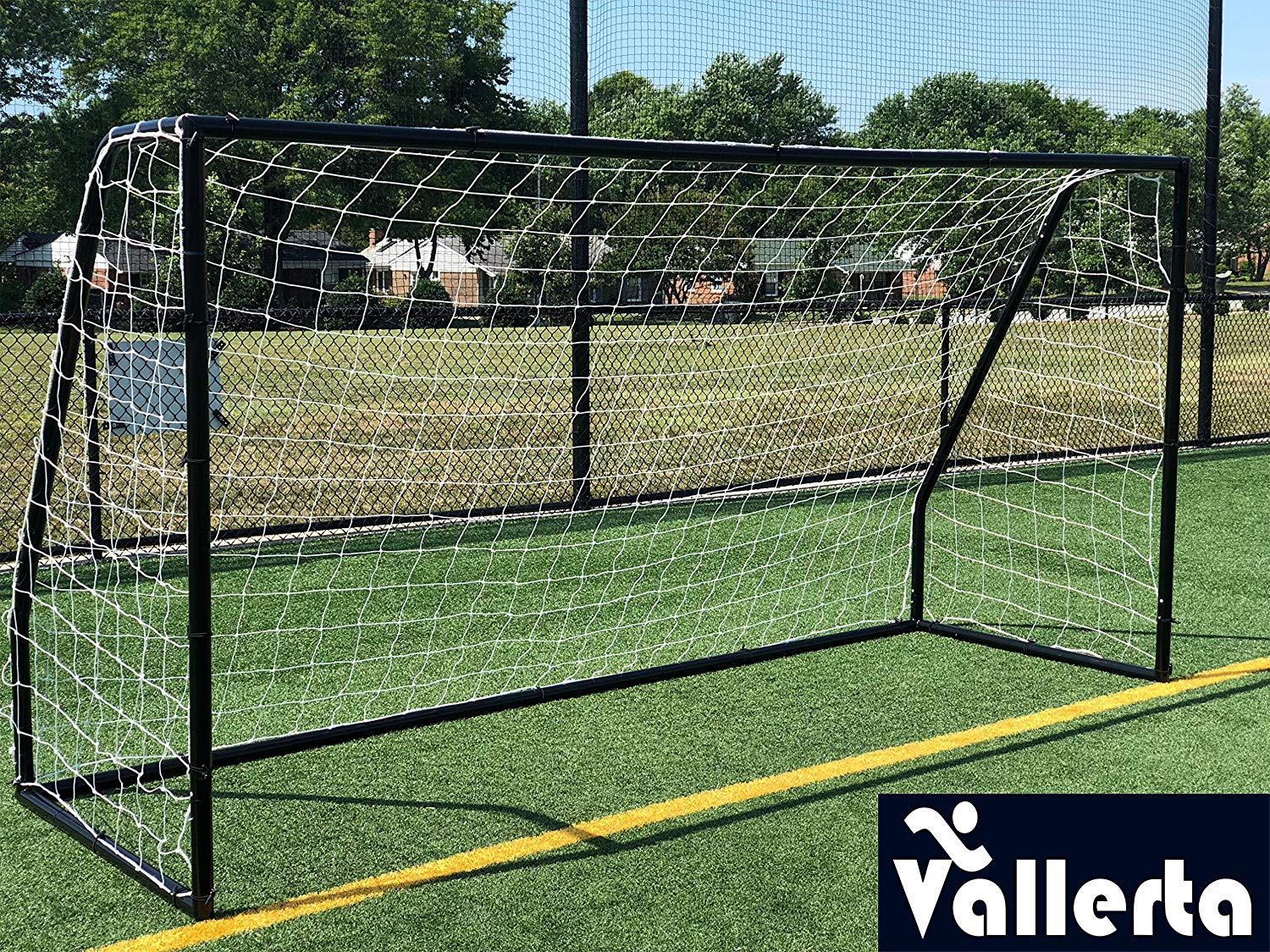 b6194e7a7 Get Quotations · Vallerta Premier 12 X 6 Ft. AYSO Youth Regulation Size Soccer  Goal w/Weatherproof