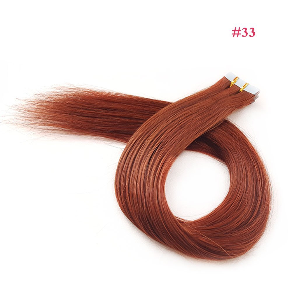 Buy Showjarlly 22 Remy Tape In Human Hair Extensions 50g 20pcsset