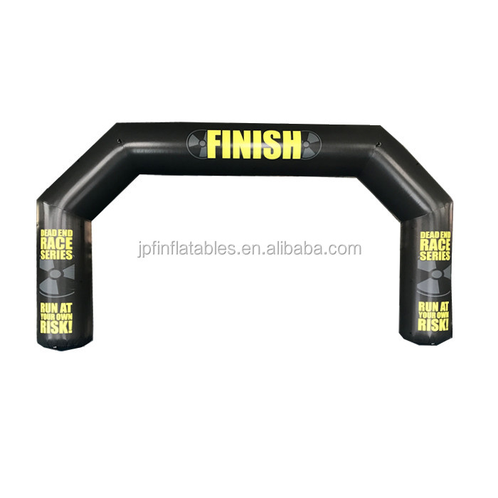 2019 Outdoor event run race start line arch inflatable archway/ finish gantry for sale