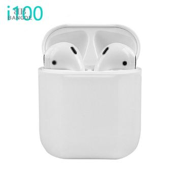 2019 best selling i100 tws 5.0 stereo wireless earphones i100tws noise cancelling earbuds