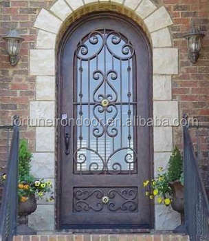 Used Exterior Doors For Sale Wrought Iron Main Door