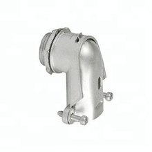 Flexible Metal Conduit Fitting 90 Degree Squeeze Connector,Flex Tube Connector