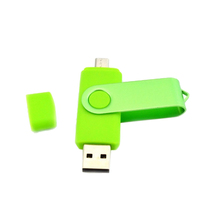 Aangepaste Logo Private Label Plastic Case Swivel Twister Gedraaid 2 In 1 Otg <span class=keywords><strong>Usb</strong></span> Floppy Disk Drive 4 128 gb pendrive