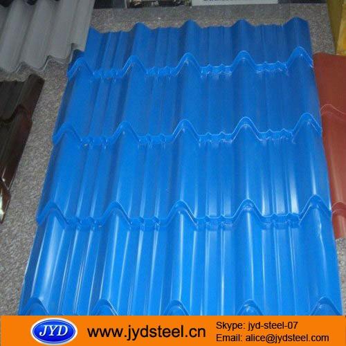 Ghana Popular 32gague Trapezodial Roofing Sheet 1025mm/ Full Hard ...