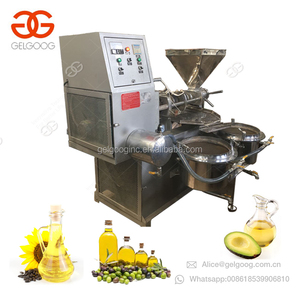 Automatic Hydraulic Sesame Almond Black Seed Oil Pressing Pine Nut Walnut Oil Making Cocoa Beans Oil Press Machine for Sale