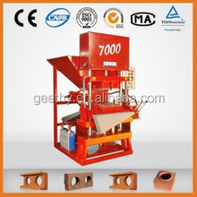 Eco Master 7000 interlock interlocking brick maker