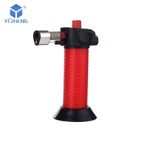 Safety features pastries butane kitchen windproof cheap barbecue torch lighter YZ-035