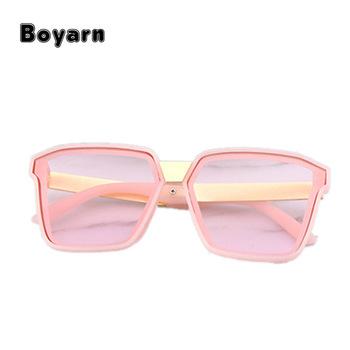 Kids Polygon Colourful Sunglasses Girls Plastic Frame Eyewear Boys ...