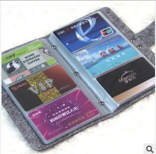 business card organiser box