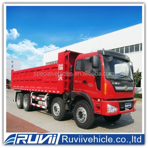 New 2016 Hydraulic Cylinder Side Dump Truck/Side Tipper Dumper Truck Trailer For Sale(Axle/Size Optional)