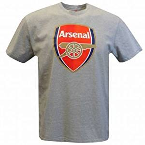 257355091 Buy Official Arsenal FC Crest Soccer T-Shirt in Cheap Price on ...