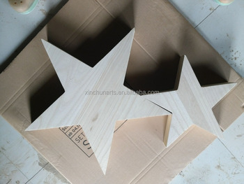 Decorative Wooden Stars Wood Craft Star Art Minds Wood Crafts