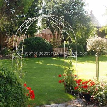 Décoratif En Fer Forgé Artistique Arc Arche De Jardin Arche à
