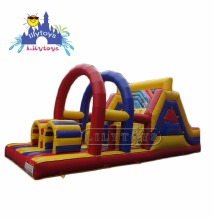 0.55 pvc commercial inflatable obstacle course kids obstacle course equipment for sale