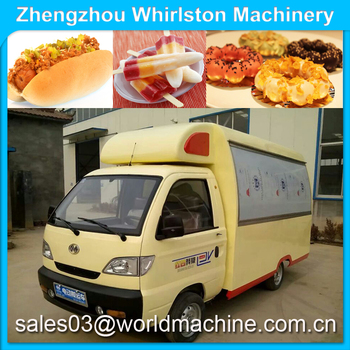 Four-wheel Mobile Kitchen Truck/buy Mobile Food Truck/coffee Trucks ...