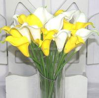mixed varieties lily artificial flower arrangement PU