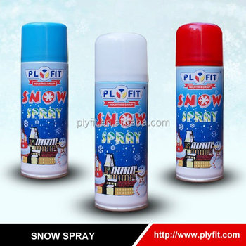 snow spray for glass