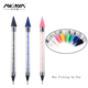 ANGNYA High Quality Wholesale Supply Nail Art Crystal Pick Up Pen Wax Picker Dotting Tool With Colorful Rhinestones