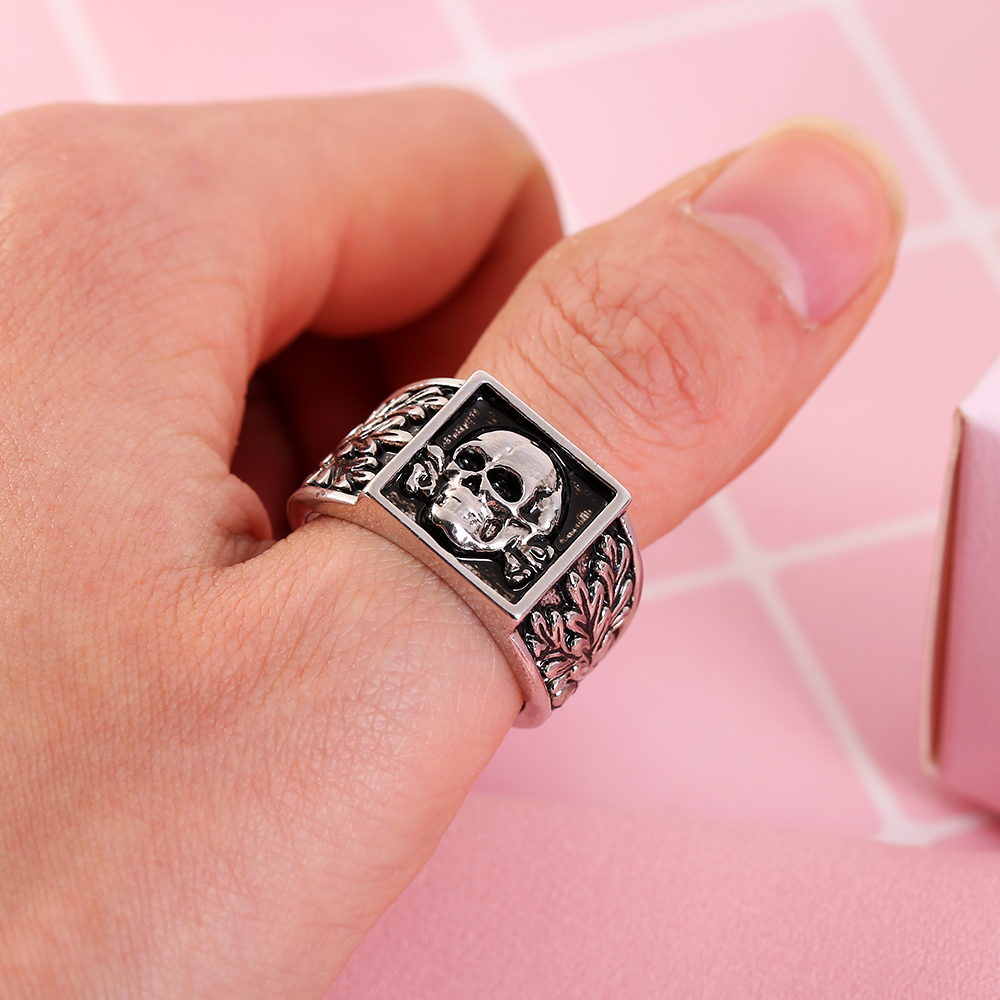 China Paypal Skull Rings, China Paypal Skull Rings Manufacturers and ...