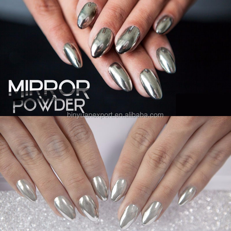 Bin Shinning Mirror Nails Powder Gorgeous Nail Art Chrome Pigment