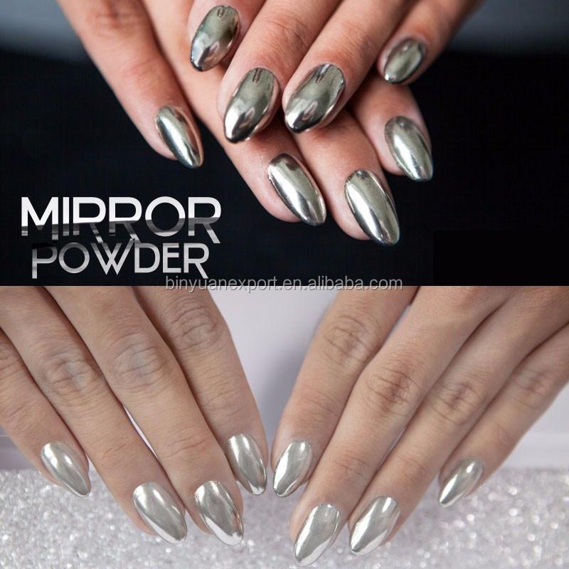 Bin shinning mirror nails powder gorgeous nail art chrome pigment bin shinning mirror nails powder gorgeous nail art chrome pigment prinsesfo Choice Image
