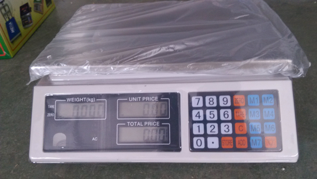 40 kg Electronic Price Computing Scale for Supermarket