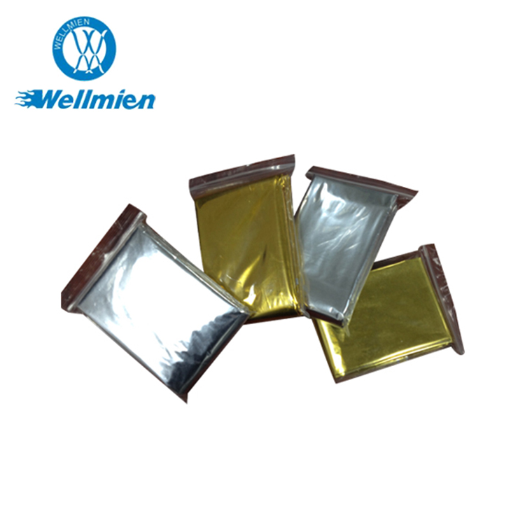 First-Aid Devices Outdoor Survival Blanket Waterproof Foil Silver Emergency Warming Thermal Mylar Blanket