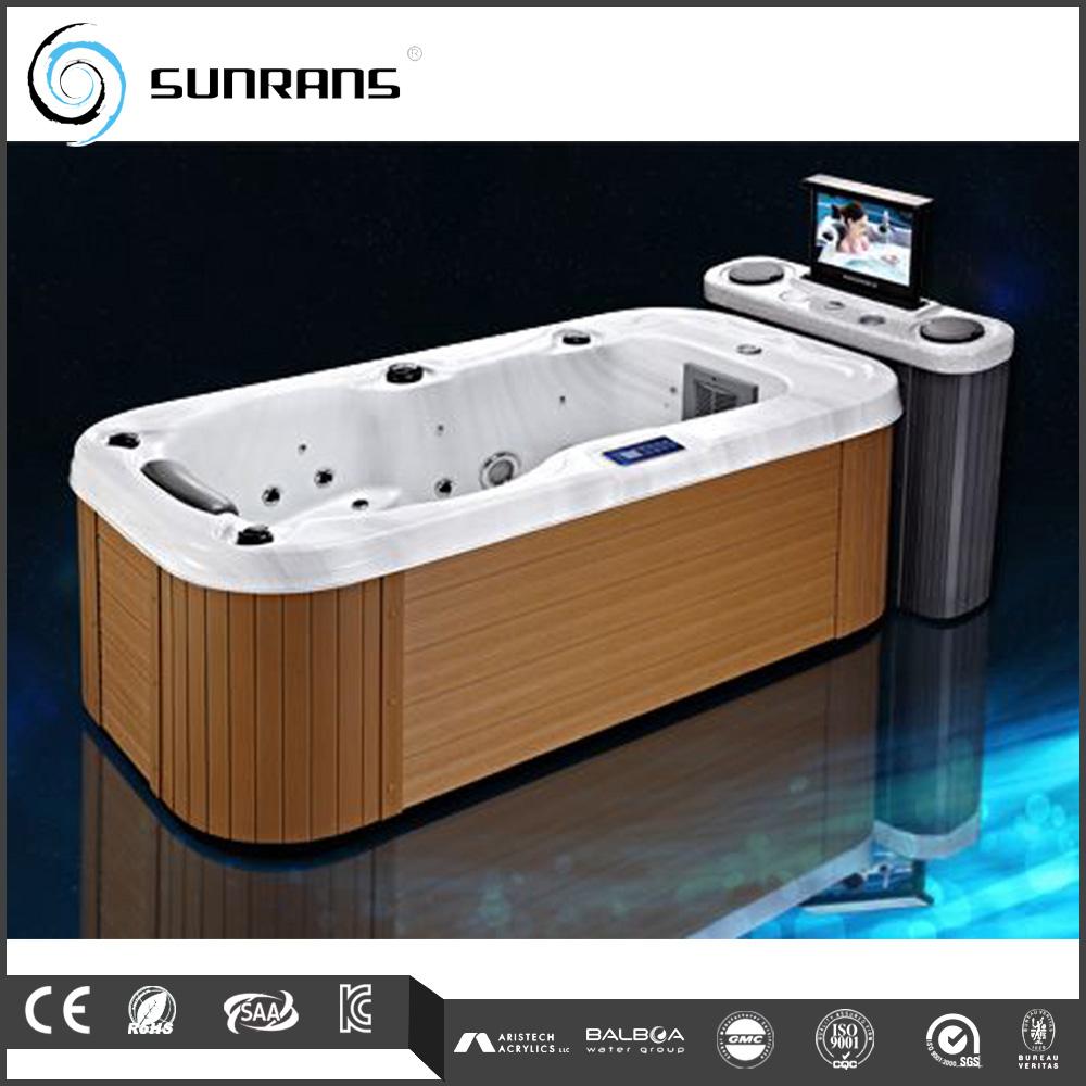 Hot Sale One Person Indoor Hot Tub With Dvd - Buy Bathtub,Bathtub ...