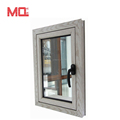 Professional aluminum window designs high quality double glass window supplier
