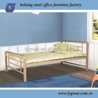 China wholesale metal frame single iron bed bedroom furniture