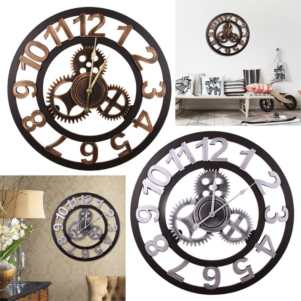 Cheap Large Gear Wall Clock Find Large Gear Wall Clock Deals On