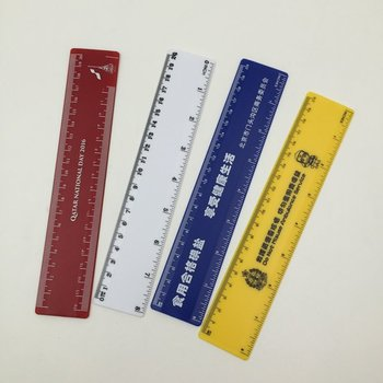 Different Size Kids School Custom Plastic Ruler
