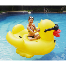Big inflatable yellow duck 30cm race duck water toy