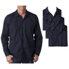 cotton office straff work cloth uniforms long sleeve mens shirt workwear
