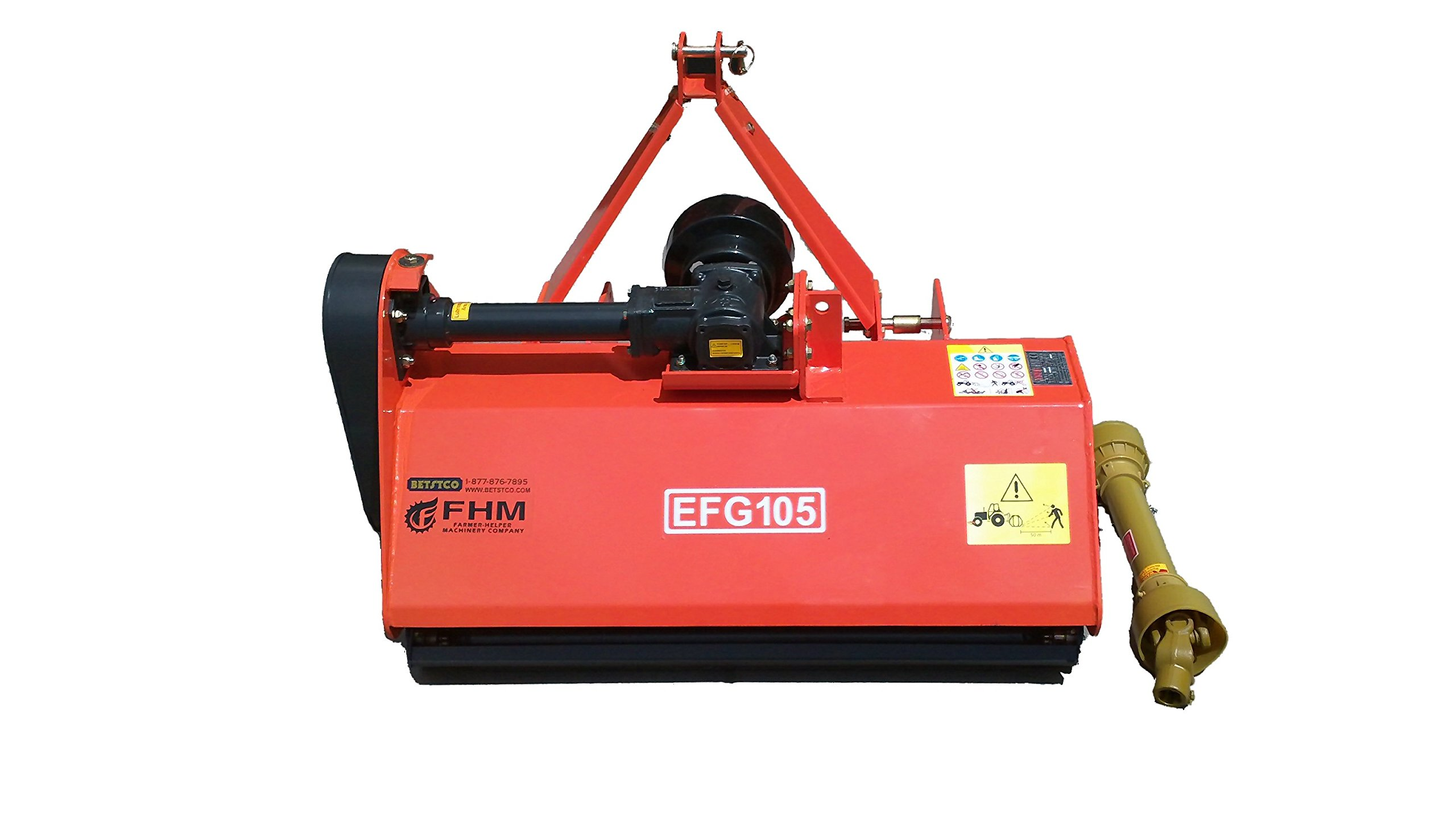 "Farmer Helper 41"" Standard Multi-Duty Flail Mower Cat.I 3pt 18+HP Rating (FH-EFG105)"