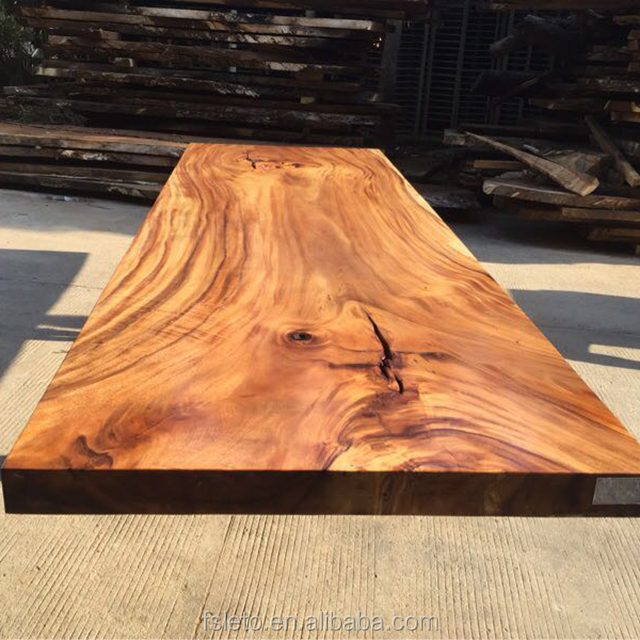 live edge dining table from Ecuador walnut wood slab kiln-dry with  thickness 5-7cm, View walnut wood table, sugar & love home Product Details  from