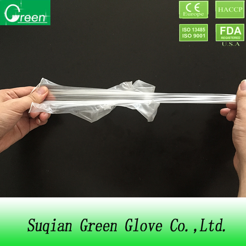 vinyl PVC powder free glove
