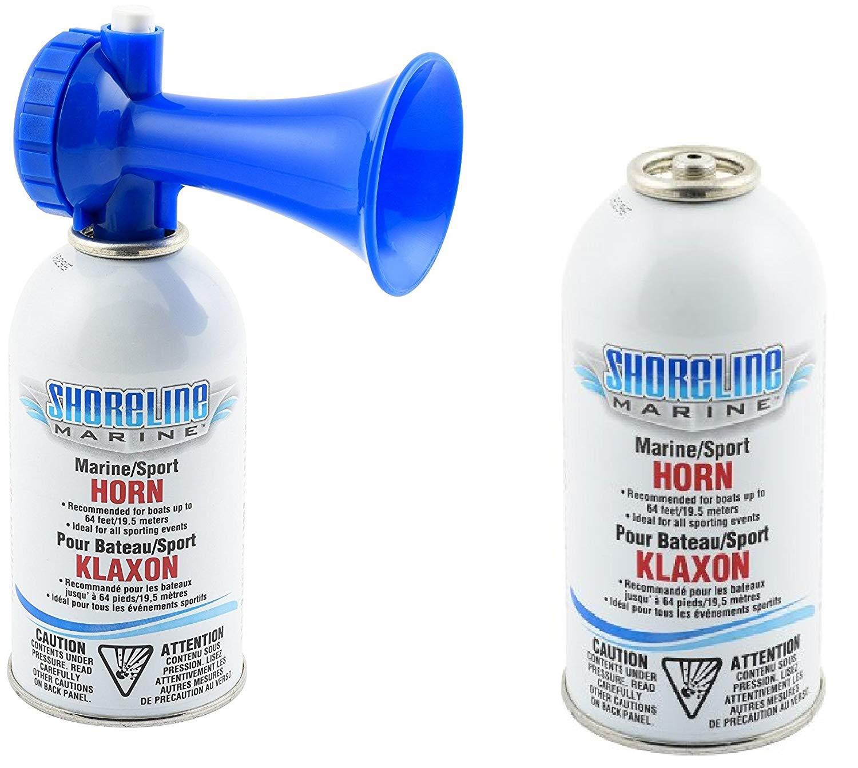 AFI 10108 Dual Trumpet Mini Air Horn Kit W// Compressor