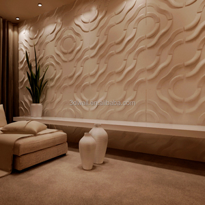 Modern Wall Art Wood Tv 3D Wall Covering Panels For House Interior