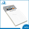 Shopping List Writing Note Pad Memo Pad Customized Letter Pad Size