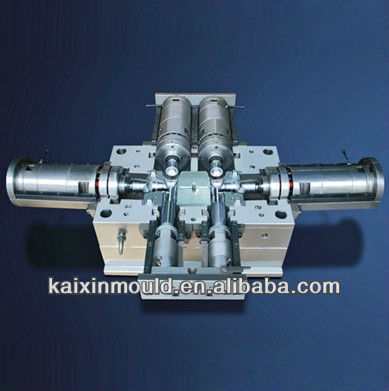 PVC true union ball valve mould