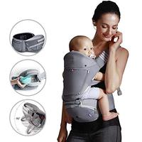 Baby Travel Carrier in Strollers,Walkers Carriers Ergonomic Hip Seat 6 in 1 Bag