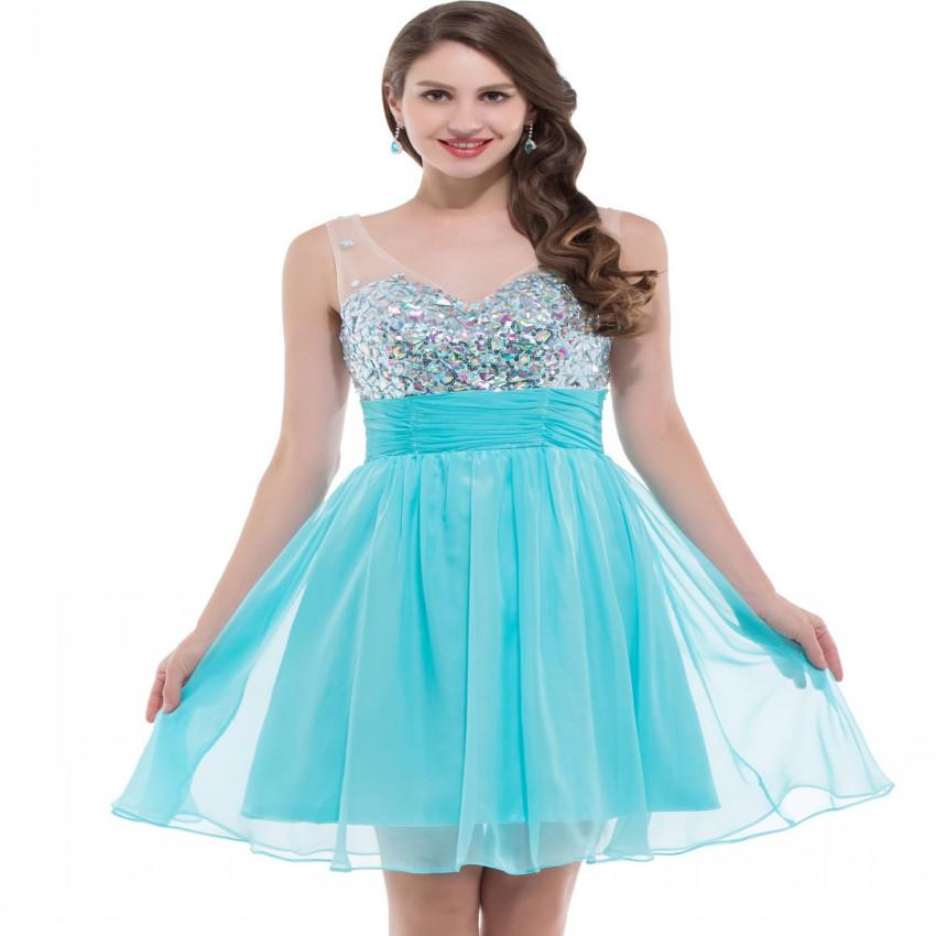 224994ad6 vestido-de-fiesta-sin-tirantes-moderno-aguamarina-blusa-plisada-natural