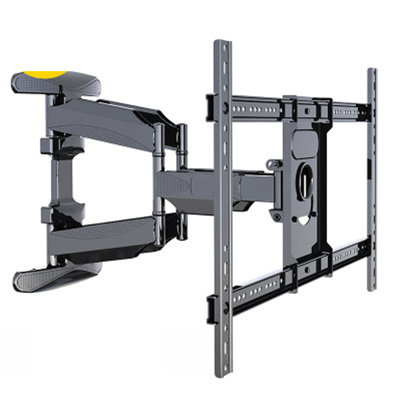universal strong ultra slim 6 arm 45&quot;-70&quot; 600x400 vesa mount retractable led full motion <strong>swivel</strong> up and down <strong>tv</strong> mount