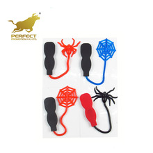 kids gifts funny party small hand sticky wall spider web tpr toy for children