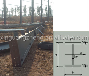 Galvanized Q345 steel china prefabricated warehouse building