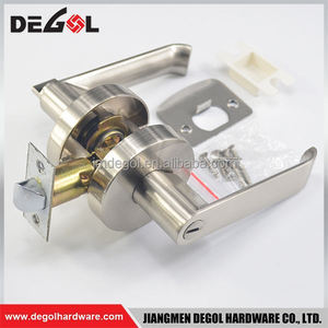 Manufacturers in china zinc alloy italian design residential interior lever handle mortise lock