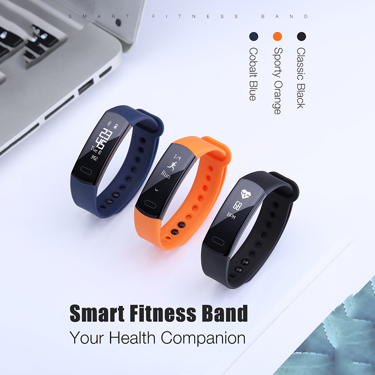 Factory Oem Bracelet Fitness Blue Tooth Health  Smart Wristband Manual