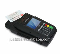 Wireless GPRS POS Terminal with color screen, 1D barcode reader, camera and Bluetooth modules